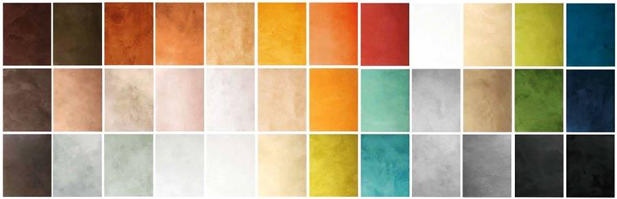 Colores y acabados del microcemento - Microcemento sobre azulejos ...